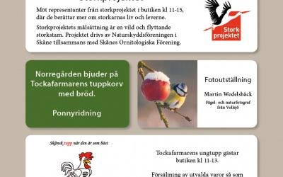 Fågellördag på Norregården 27 Januari kl 10-16
