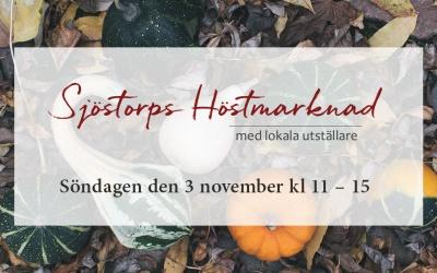 Sjöstorps Höstmarknad